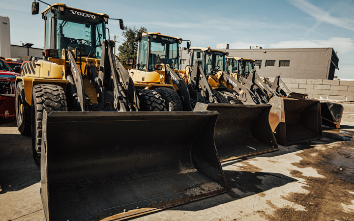 Heavy Duty Equipment is available to reclaim parking spaces and move piles.